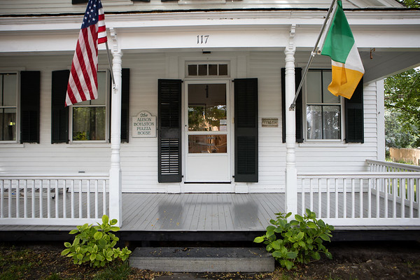 Welcome - Failte! - to the Alison Boylston Piazza House, my childhood home to which I returned to live full time eight years ago and have been in the process of creating a welcoming environment to share my children,  grandchildren, friends, and guests, including the hosting of many an Irish traditional music session on this porch and in my photo gallery.
