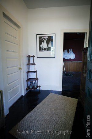 The front hall, main entryway. Welcome to the Alison Boylston Piazza House, home of Midnight Mermaid Gallery and Sara Piazza Photography and Music.