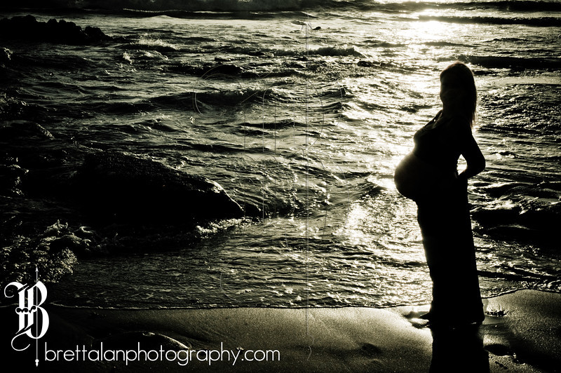 Maternity Photography at Windansea Beach, La Jolla, California