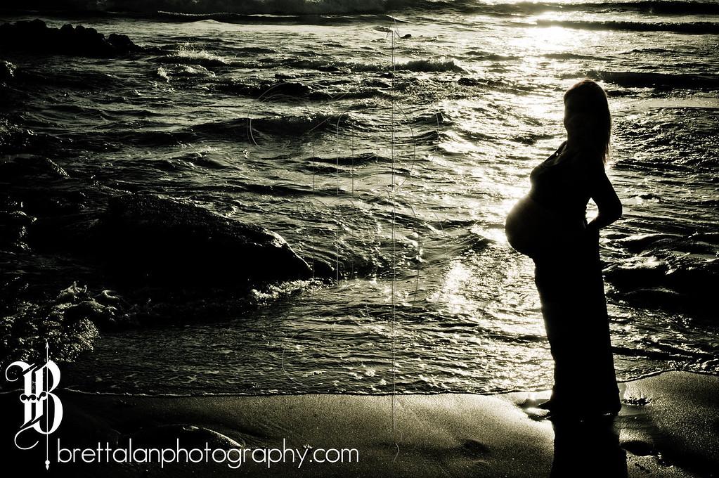 Maternity Photography at Windansea Beach, La Jolla, California