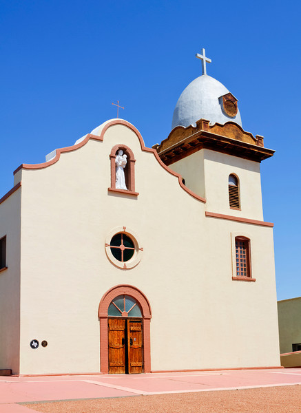 Ysleta Mission<br /> The Ysleta Mission is located within the city of El Paso, Texas on tribal land belonging to the Ysleta del Sur Pueblo and is one of three historic churches (along with the Socorro Mission and San Elizario Chapel) that comprise El Paso's historic Mission Trail. The Ysleta Mission dates back to 1682 when it was built by Spanish colonizers using labor from the Tiwa and Piro indian tribes following the Spaniards' escape two years earlier from the Pueblo Revolt in northern New Mexico. Like its two sister churches on the Mission Trail, the Ysleta Mission has been damaged or destroyed on several occasions due to floods and fire, but each time it was rebuilt and it is now recognized as the oldest continuously operated parish in Texas.