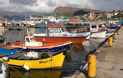 Kalk Bay harbor, South Africa