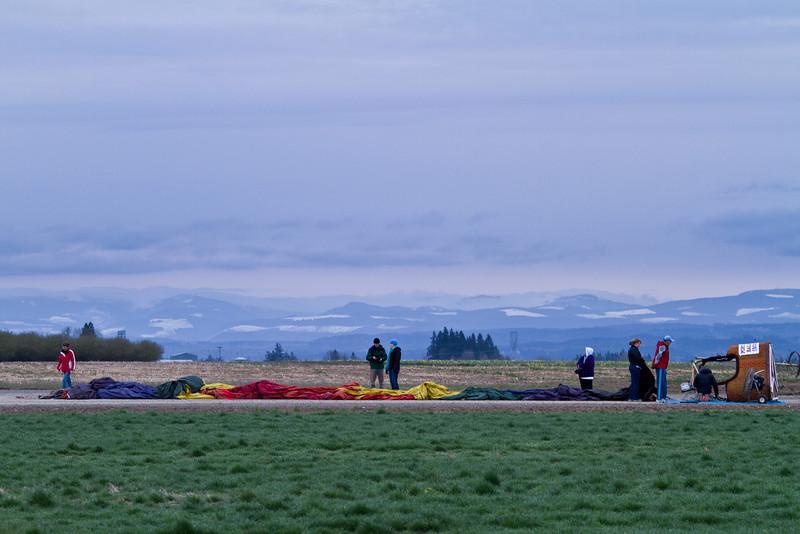 Flat Air Balloon Ride