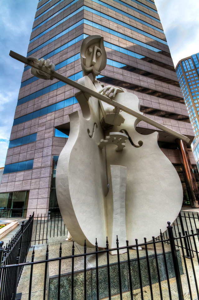 Virtuoso Sculpture<br /> Lyric Centre<br /> Houston, Texas
