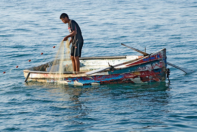 Pulling up the nets, Acre Israel