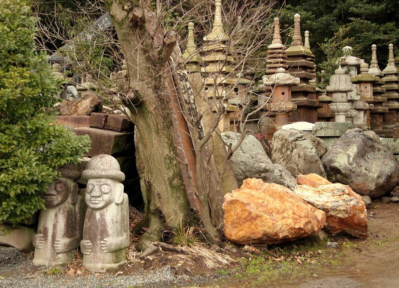 Stone yard<br /> Kyoto, Japan