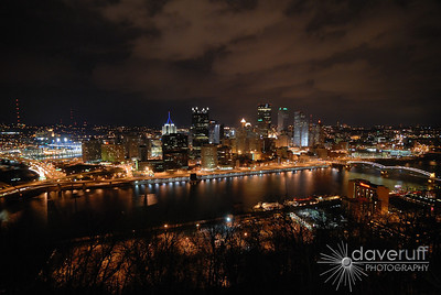 The Pittsburgh Pennsylvania Skyline.