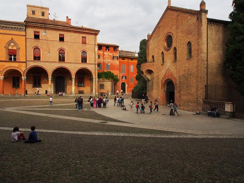 Basilica Santuario Santo Stefano, Bologna, Italy