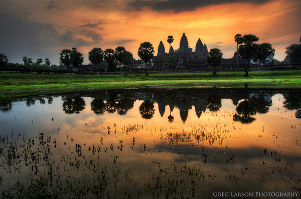 Angkor Wat Sunrise HDR