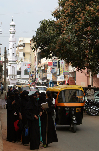 The Muslim Quarters of Bangalore, India