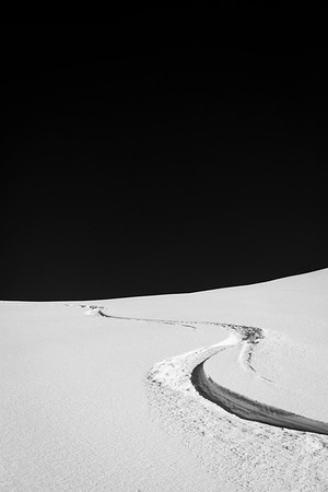 White Curves / La Clusaz, France