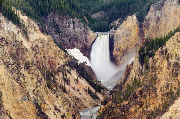 Artist Point Lower Falls, Yellowstone NP (28 May 2012)
