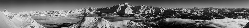 Mont Blanc Mountains / France