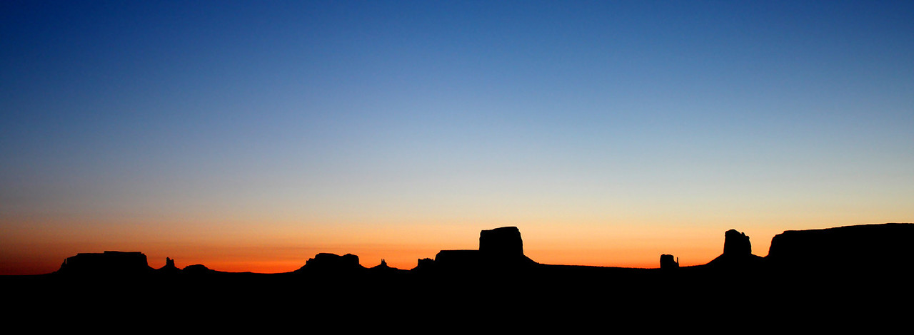 Sunrise Over Monument Valley, AZ