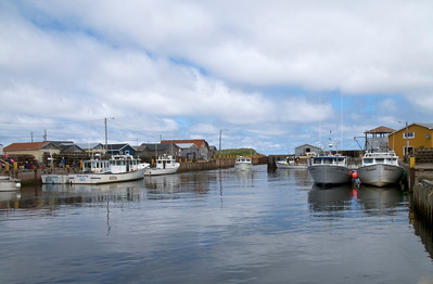 Fishing Village on Prince Edward Island