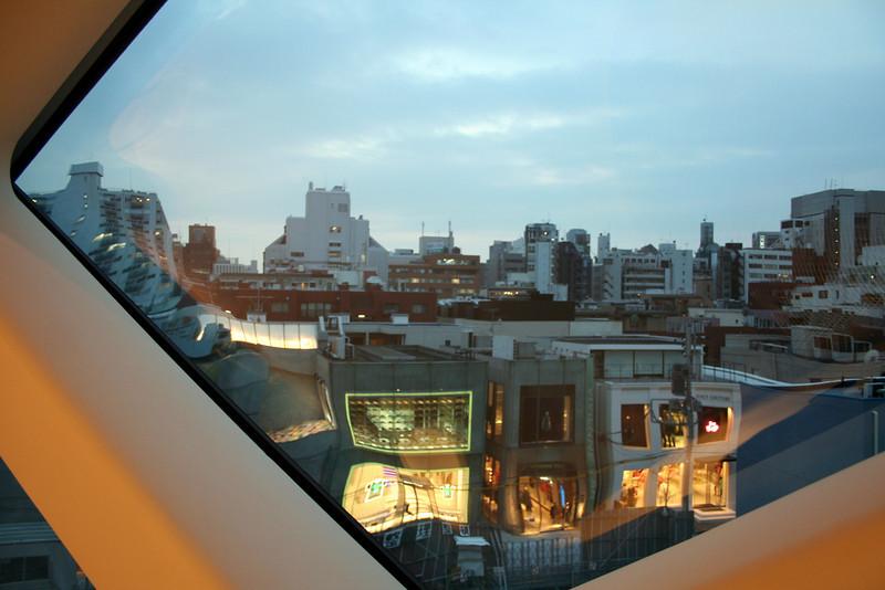 City reflections<br /> Tokyo, Japan