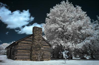Infrared taken in Yew Dell Gardens, Crestwood, Kentucky