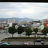 Panorama of downtown Kyoto, Japan