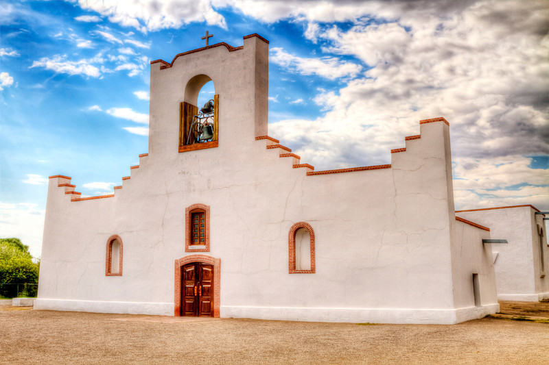Socorro Mission<br /> Located just outside the El Paso city limits, the Socorro Mission is one of three historic churches that comprise El Paso's historic Mission Trail. The Socorro Mission dates back to 1682 when it was built by Spanish colonizers following their escape from the Pueblo Revolt in northern New Mexico. Like its two sister churches on the Mission Trail, the Socorro Mission has been rebuilt several times following flood damage from the Rio Grande, with the present structure of the Socorro Mission dating back to 1848.