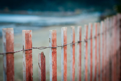 Fence - Harrison Hotsprings