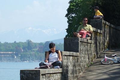 Parc Anglais. Geneva, Switzerland.