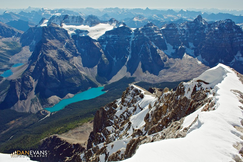 Moraine Lake from Temple