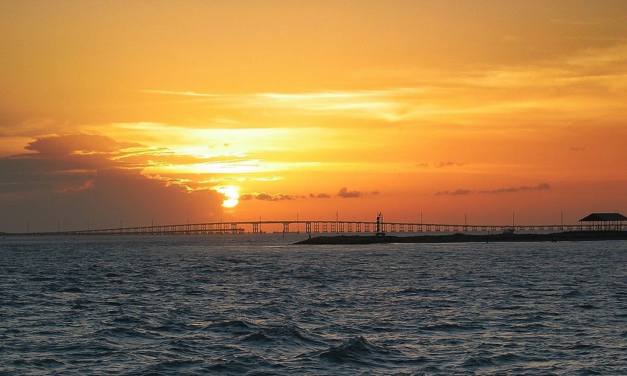 Queen Isabella Causeway (Bridge from Port Isabel to South Padre Island, Texas)