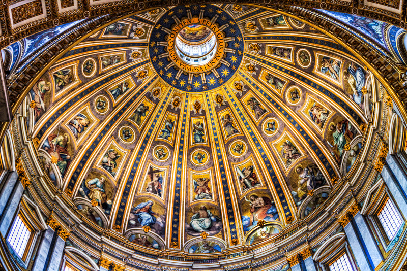 The Central Dome of St. Peter's Basilica