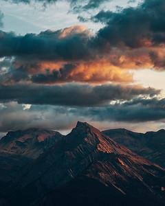 Haute-Nendaz Morning Sky