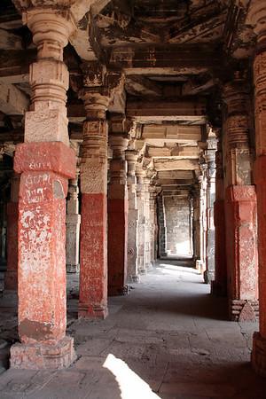 Temple in the Daulatabad Fort<br /> Daulatabad, India