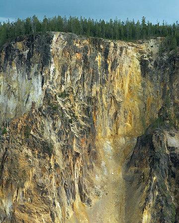 Yellowstone Canyon,Storm Light,2006