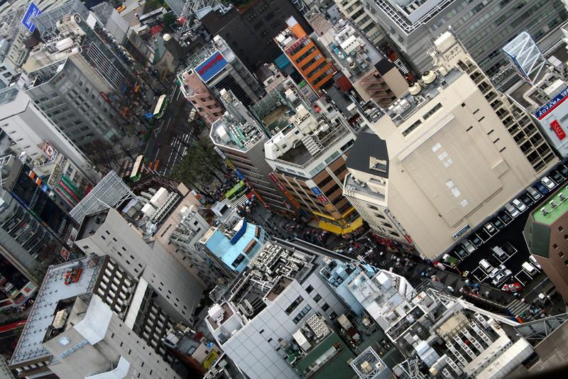 Panorama of Tokyo, Japan