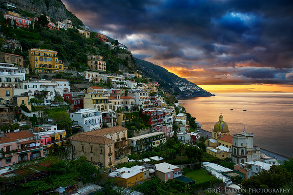 Positano Sunrise