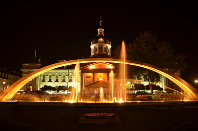 Kingston at Night