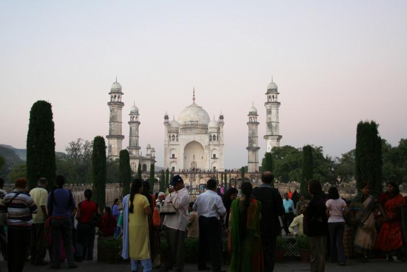 """Poor man's Taj Mahal"" - Bibi Ka Maqbara, at dusk<br /> Aurangabad, India"