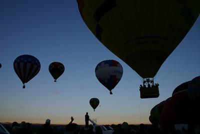 Balloon Fiesta. Alburquerque, NM.