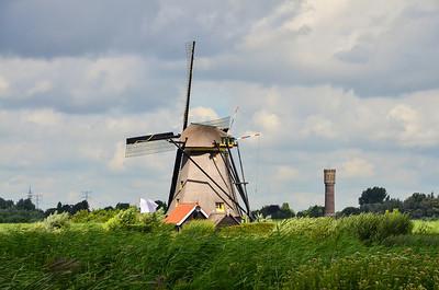 Windmill at Kinderdijk, Netherlands