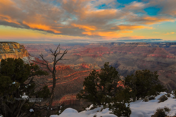 Yavapai Point, Grand Canyon NP (19 December 2011)