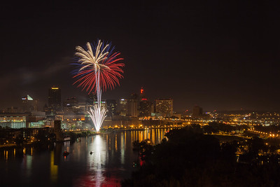 Fireworks in St. Paul