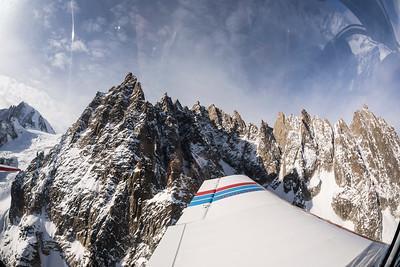 Mont Blanc Mountains / Chamonix, France