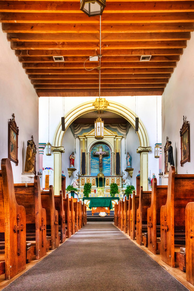 Ysleta Mission Interior