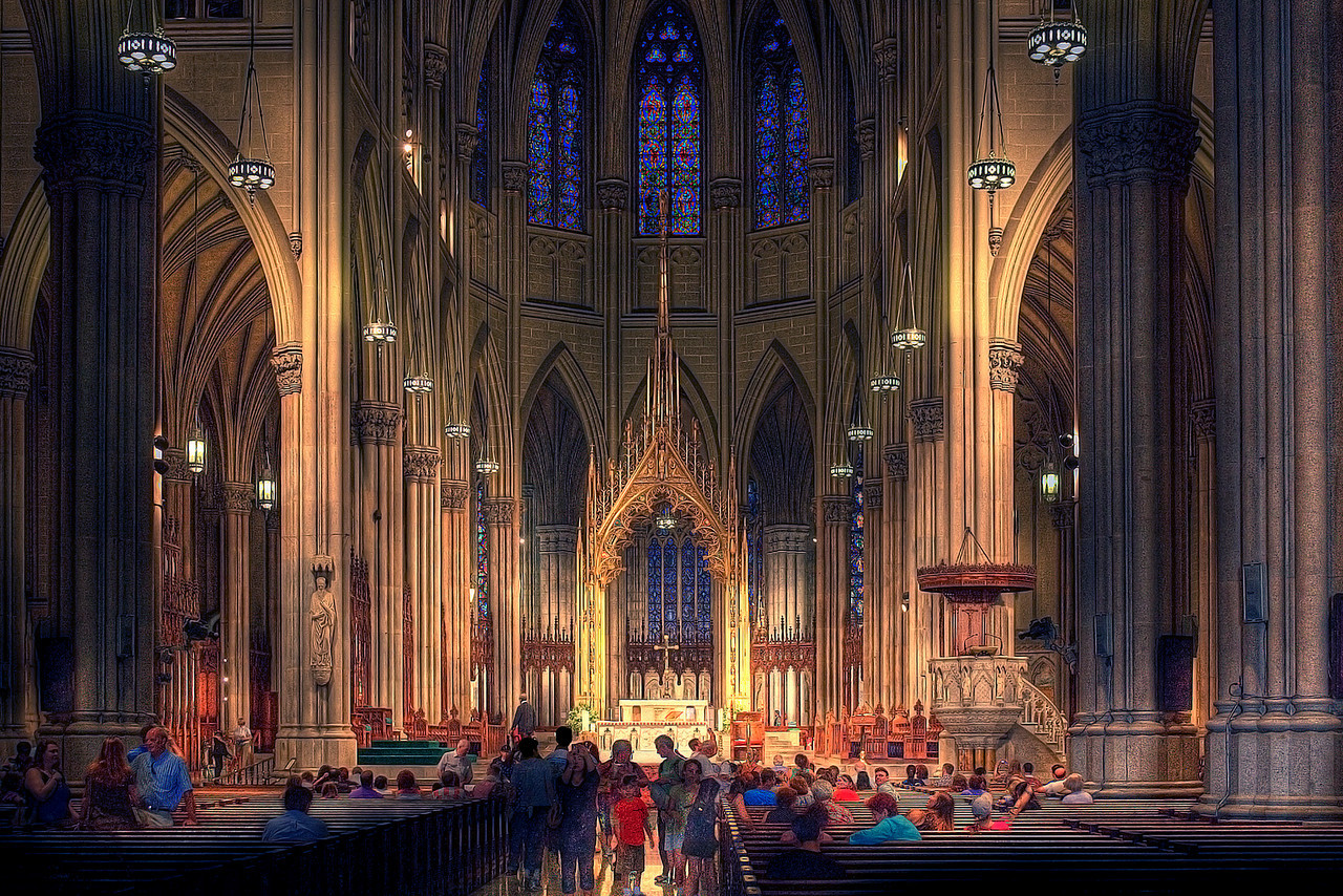 St. Patrick's Cathedral, HDR