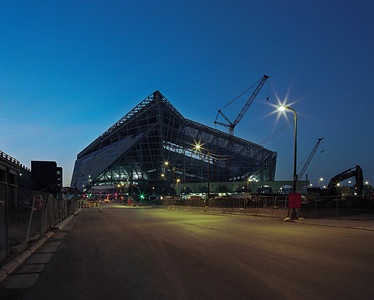 Viking Stadium at Dawn