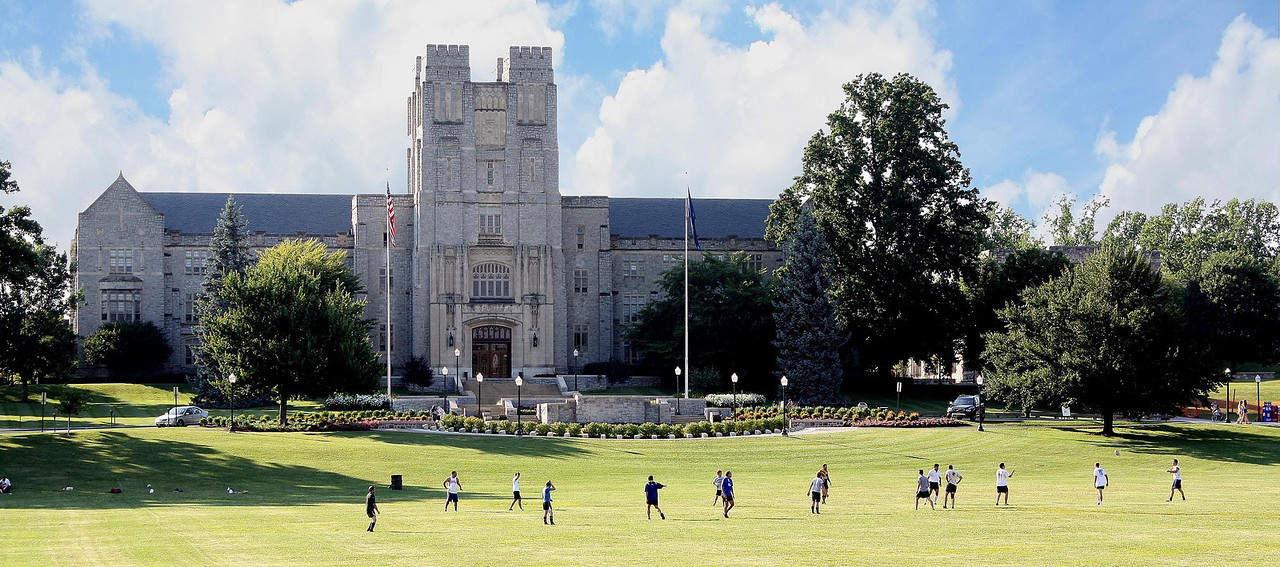 Burruss Hall, Virginia Tech