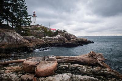 Lighthouse Park - Logs