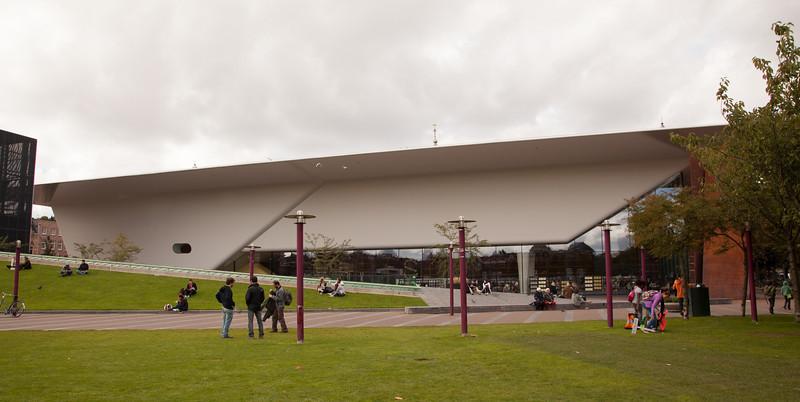 Exterior of the Stedelijk Museum.