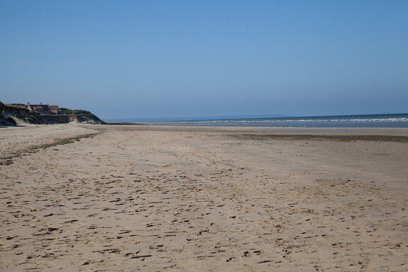 Utah Beach in 2013, site of American landings on D-Day.
