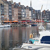 Another view of the harbor at Honfleur.