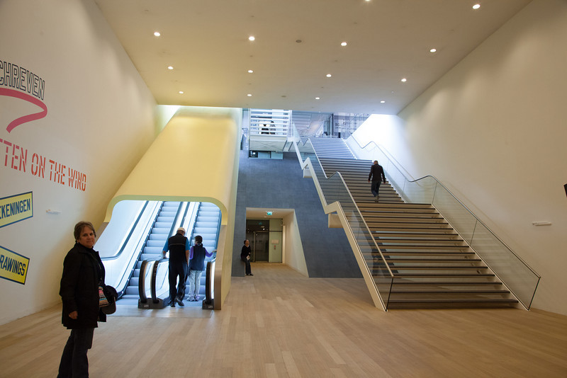 The Stedelijk is a beautiful museum and its architecture is outstanding.