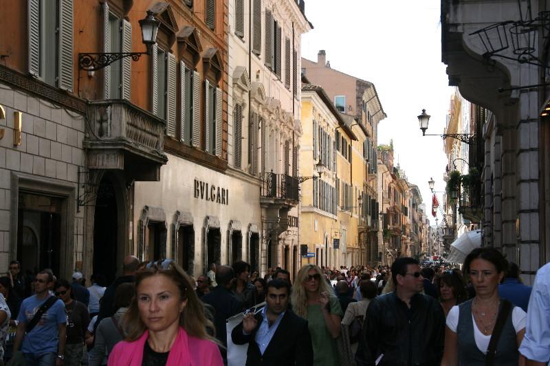 Rome: Via Condotti